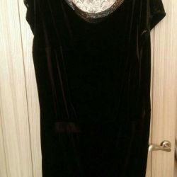 Evening dress of large size