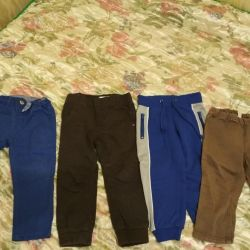 Pantolon 4 adet