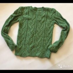 Warm knitted sweater