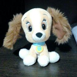 Soft puppy toy