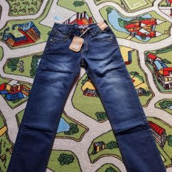 Jeans new on the boy