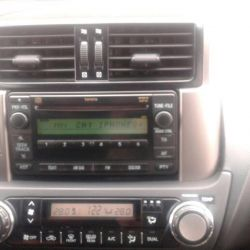 Tape recorder Toyota Land Cruiser Prado