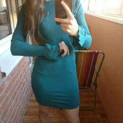 Dress in a hem