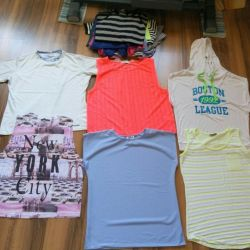 T-shirts and tops for size 44-46-48
