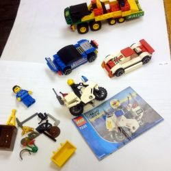 Lego cars and parts