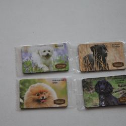 4pcs dog magnets