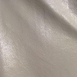 Ткань под кожу / лак белая