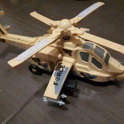 Игрушка вертолет. Новый. В коробке