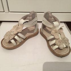 Children's shoes, sandals 23 solution