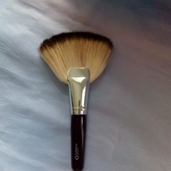 Fan brush for make-up