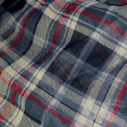 Elimination of residues !!!!!!!! Cut chiffon fabric