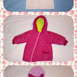 Demi jacket for girls 1-1,5g and 1,5-2g (3 pieces)