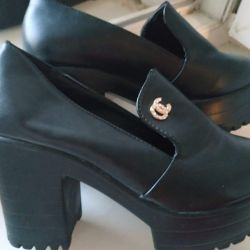 Ayakkabı yeni platform, rahat topuk, 37 beden