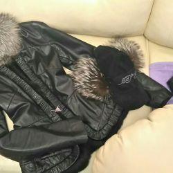 Куртка кожаная на весну