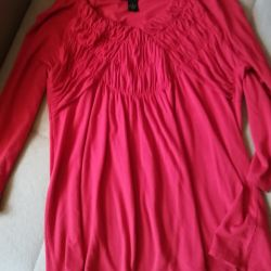 Blouse. It is possible for pregnant women.