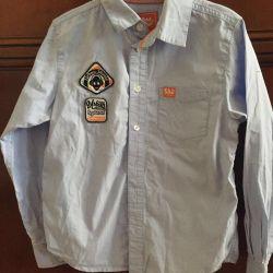 Рубашки для мальчика школьные