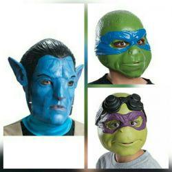 Masks on halloween
