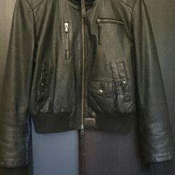 Women's leather jacket S-M44.cristina effe.Italy