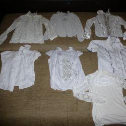 Блузки школьные р.146-152