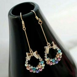 Earrings of wreaths