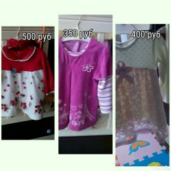 Dresses for girls from 6-9 months