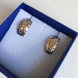 gold new earrings