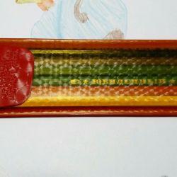 Pencils of the USSR. Anniversary set 1989