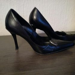Casadei leather shoes, 38
