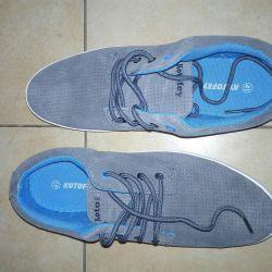Χαμηλά παπούτσια Kotofey γνήσιο δέρμα 40 μέγεθος