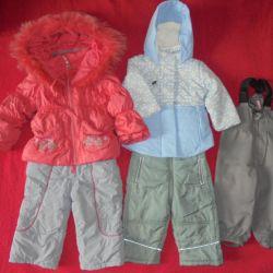 Spring-autumn jumpsuit, jacket, pants 80-86cm