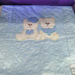 Παιδικά κουβέρτες ζακάρ