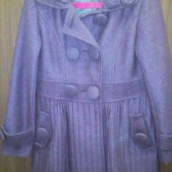 Kızlar için yün ceket