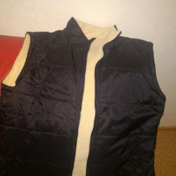 The vest is 9-10 years old.