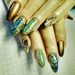 Manicure, gel nail extension, correction, design
