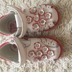 Sandals on the girl 21 rr a fairy tale