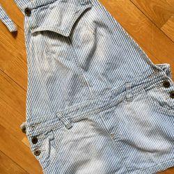 Zara overalls denim