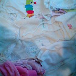 Одяг для дівчинки від народження до 1 року
