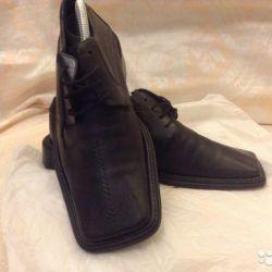 мужские кожаные туфли 41 разм