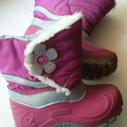 Boots for the girl fall / spring