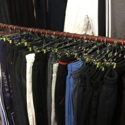 Широкий ассортимент спортивных,всесезонных брюк.