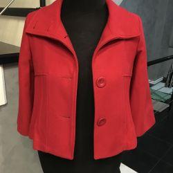 Ceket (hediye olarak kırmızı çanta))