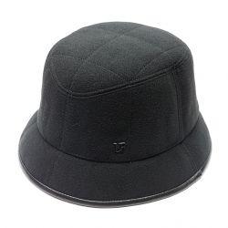 Панама шляпа мужская LF шерстяная  (черный)