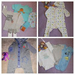 Things on the boy 0 -3 months.