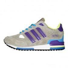 Sneakers Adidas ZX 750 Gray Purple Blue