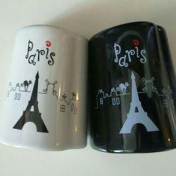 Paris salt and pepper shaker