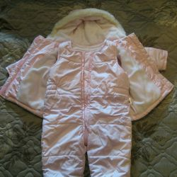 Children's demi-season overalls jacket and pants