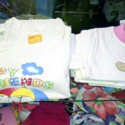 Yeni T-shirtler, T-şortlar
