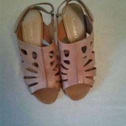 Yaz sandalet tomas.Natural deri.37