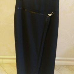 Long black skirt new