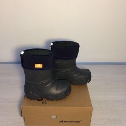 Boots made of EVA with fleece insulation